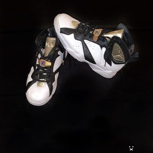 "Retro Air Jordan ""Champagne 7's"""